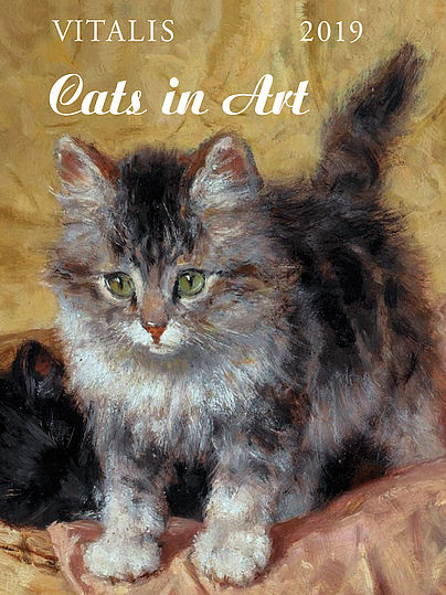 Minikalendář Cats in Art 2019
