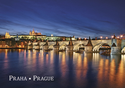 Magnet Charles Bridge with Prague Castle