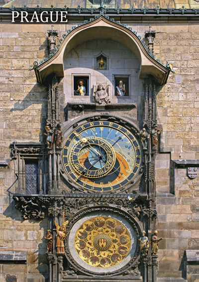 Magnet Astronomical Clock