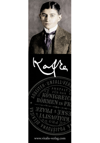 Bookmark with Franz Kafka